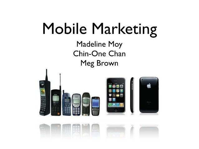 Mobile marketing mcdm