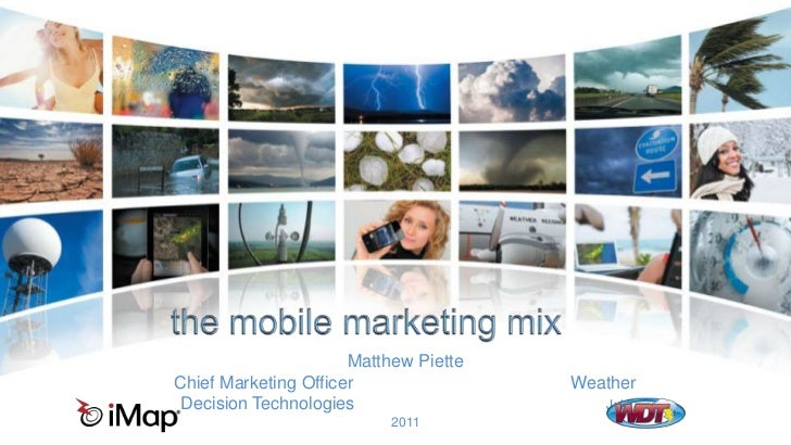 Mobile Marketing Mix
