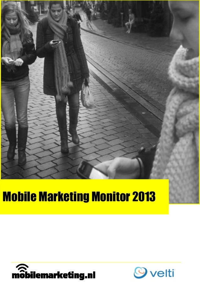 Mobile marketing monitor 2013