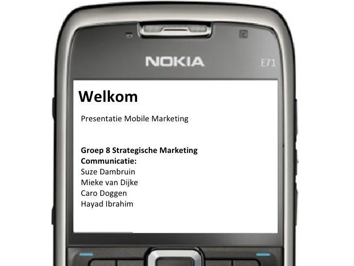 Workshop Mobile Marketing SMC