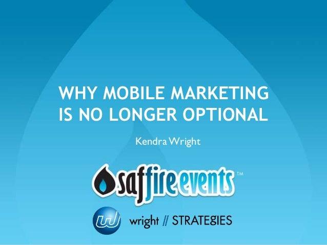Mobile marketing presentation
