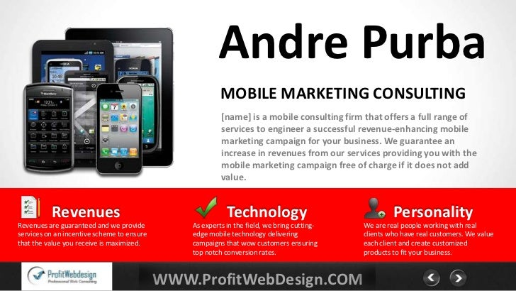 Andre Purba                                                         MOBILE MARKETING CONSULTING                           ...