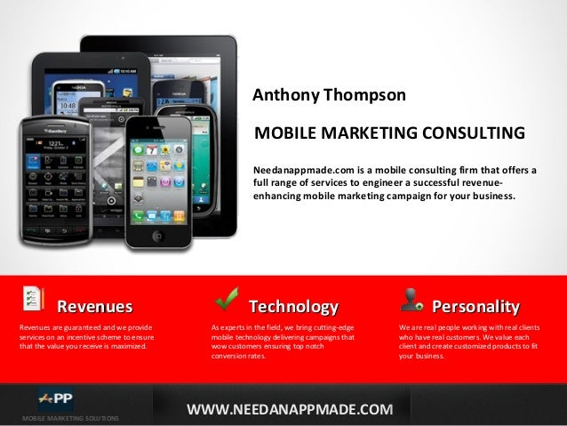 Mobile marketing sales presentation