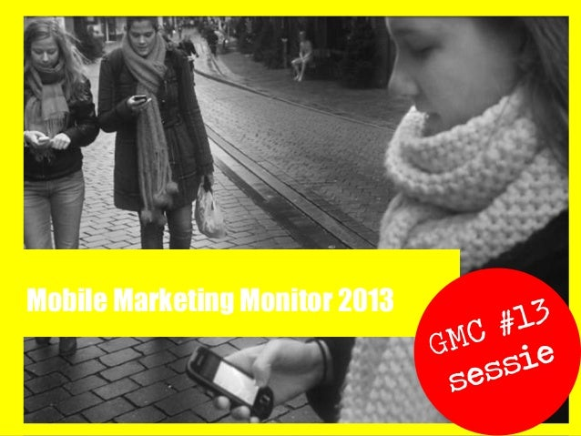 Mobile Marketing Monitor 2013