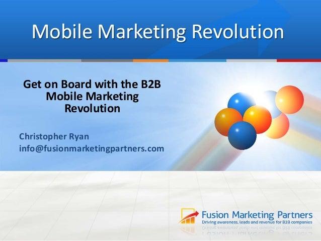 B2B Mobile Marketing Tips