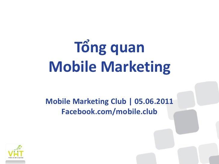 Mobile Marketing Tam