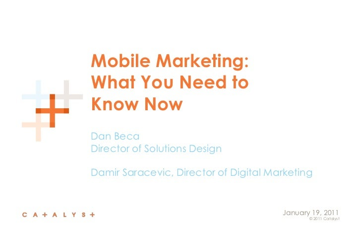Mobile marketing what you need to know now catalyst