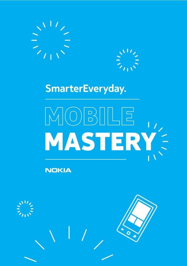 Mobile Mastery ebook - Nokia - #SmarterEveryday