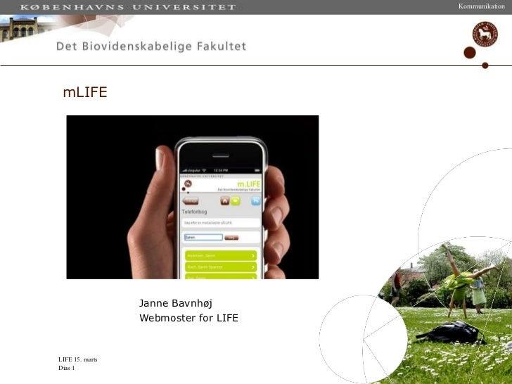 Mobile medier oplæg til netværksmøde hos Jboye