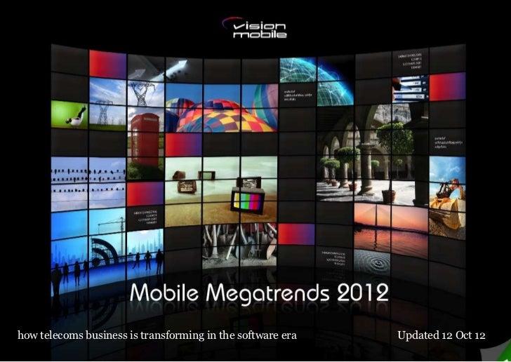 Mobile megatrends 2012
