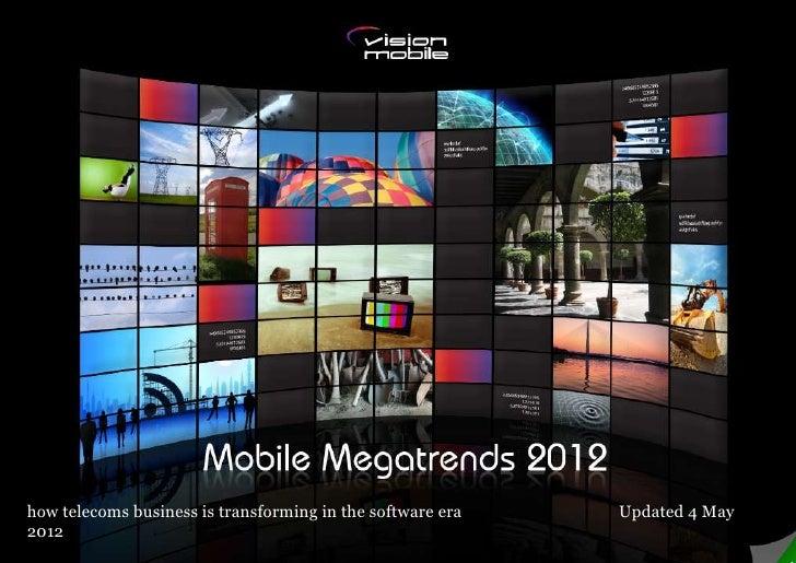 Mobile Megatrends 2012 - Vision mobile