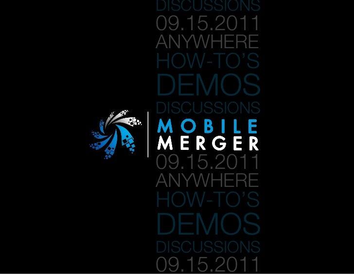 Mobile Merger Agenda