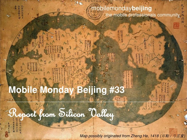 mobilemondaybeijing                               the mobile professionals community     Mobile Monday Beijing #33  Report...