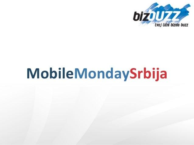 Mobile monday Srbija - Jelena Rakić
