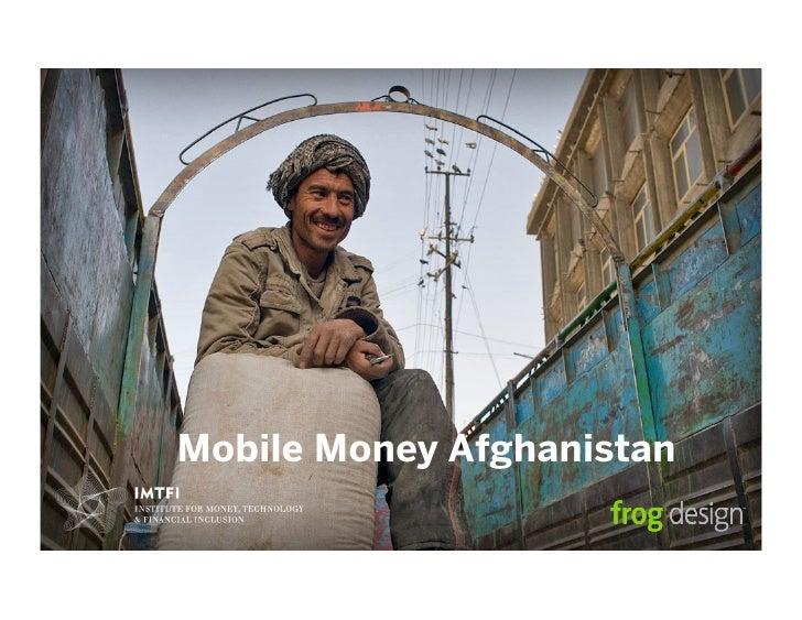 Mobile Money Afghanistan