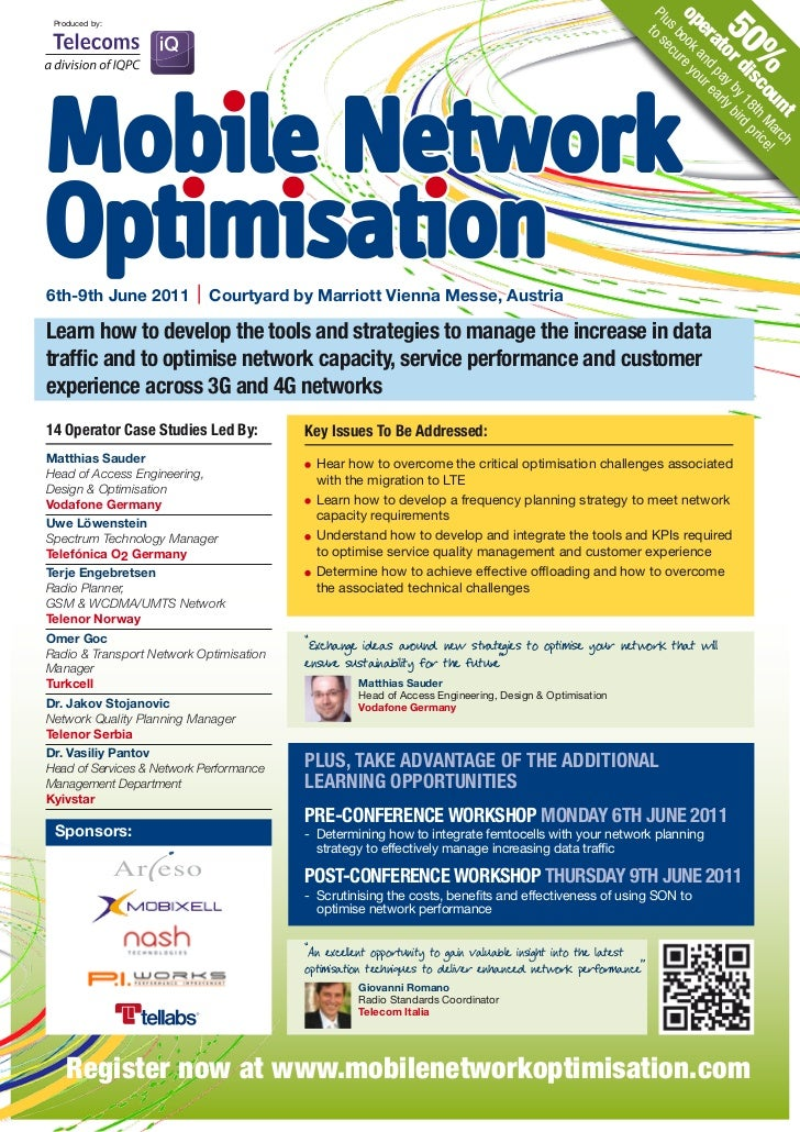 Mobile Network Optimisation 2011