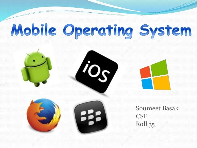 mobile operating system This graph shows the market share of mobile operating systems worldwide based on over 10 billion monthly page views.