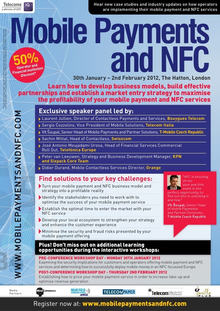 Mobile Payments and NFC
