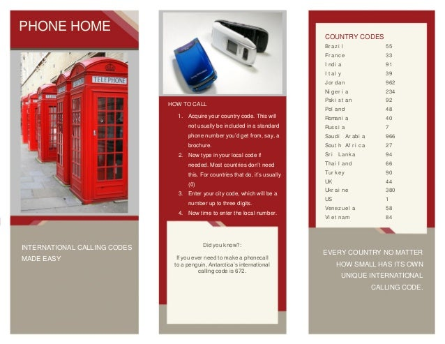 Phone Home: International Calling Codes Made Easy