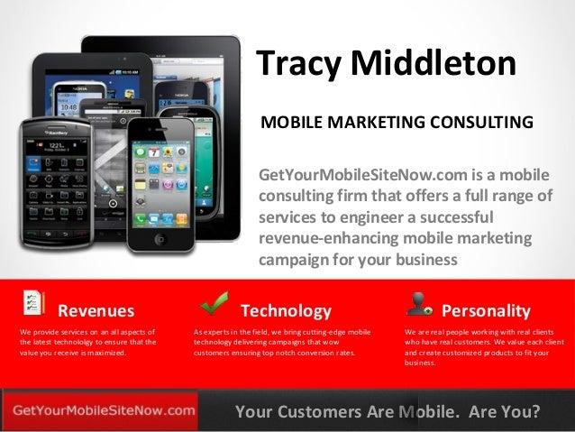 Mobile presentation GetYourMobileSiteNow.com