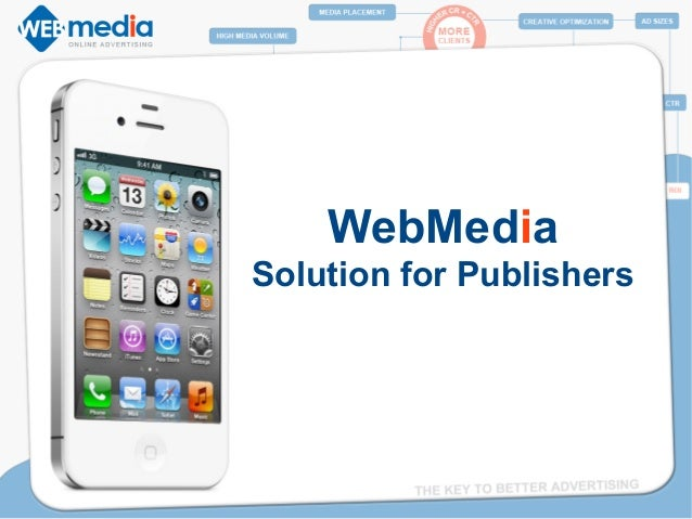 WMADV WEBMEDIA - Solution for Publishers
