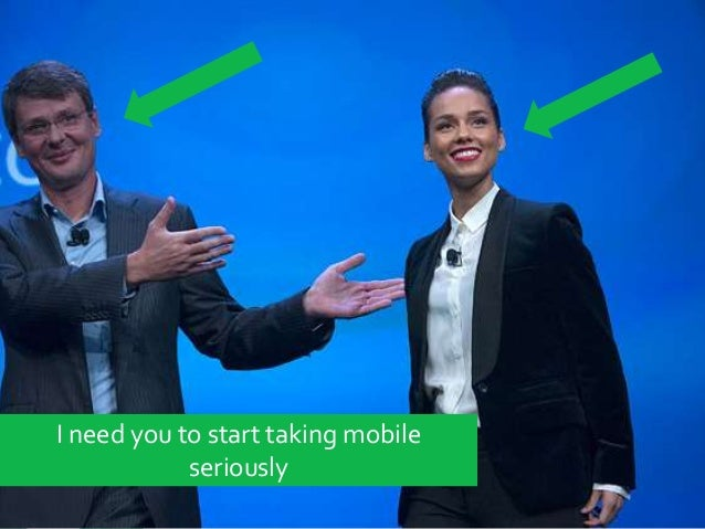 Thinking mobile first