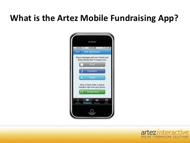 What is the Artez Mobile Fundraising App?<br />