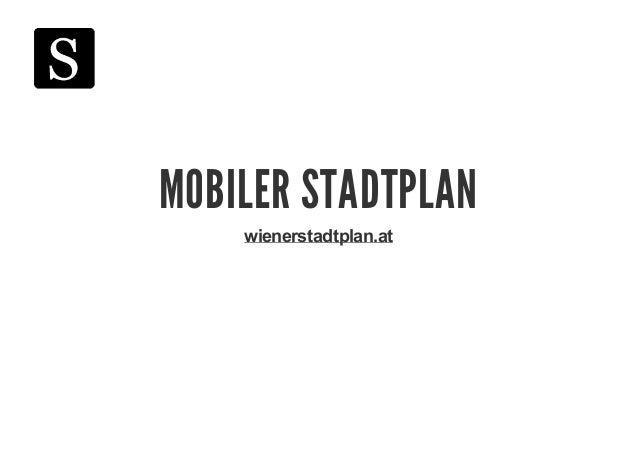 Mobiler Stadtplan