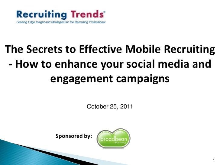 Mobile Recruiting