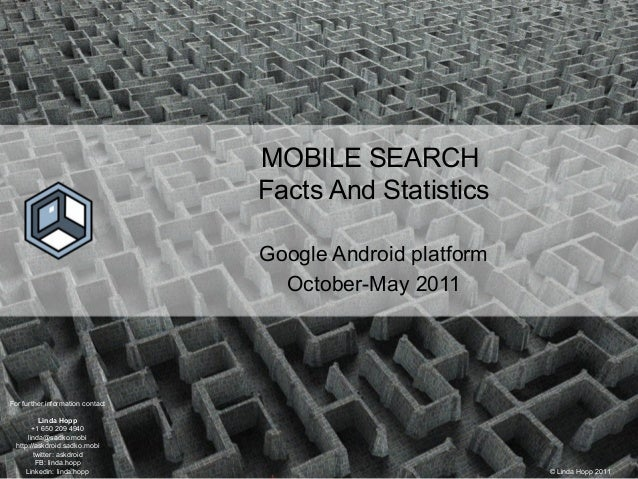 Mobile search report May 2011