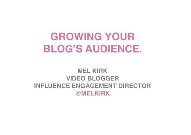 GROWING YOUR