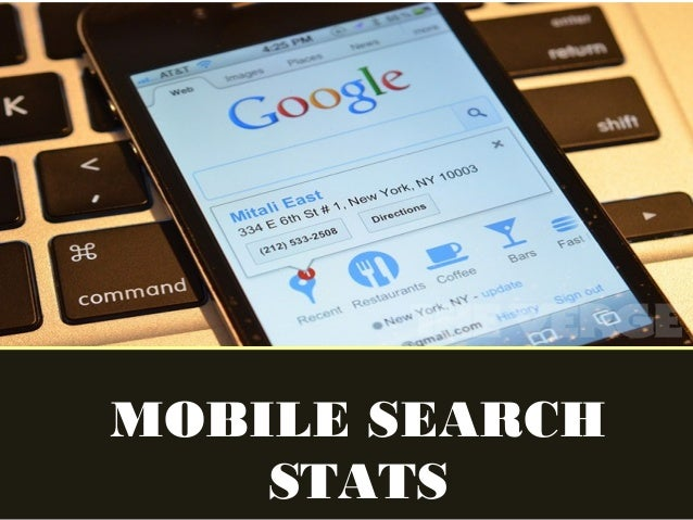 Mobile Search Stats
