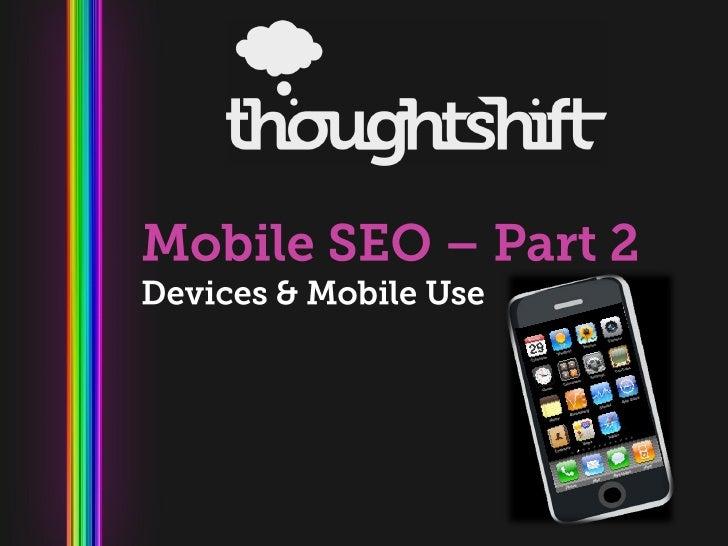 Mobile SEO Presentation