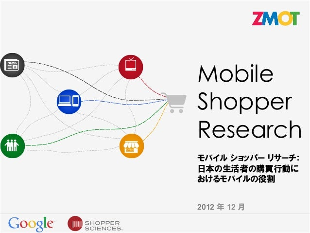 Mobile shopper research