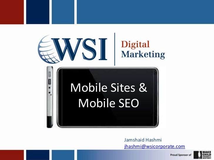 Mobile sites and mobile seo