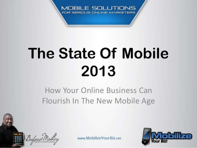 How Your Online Business CanFlourish In The New Mobile Age