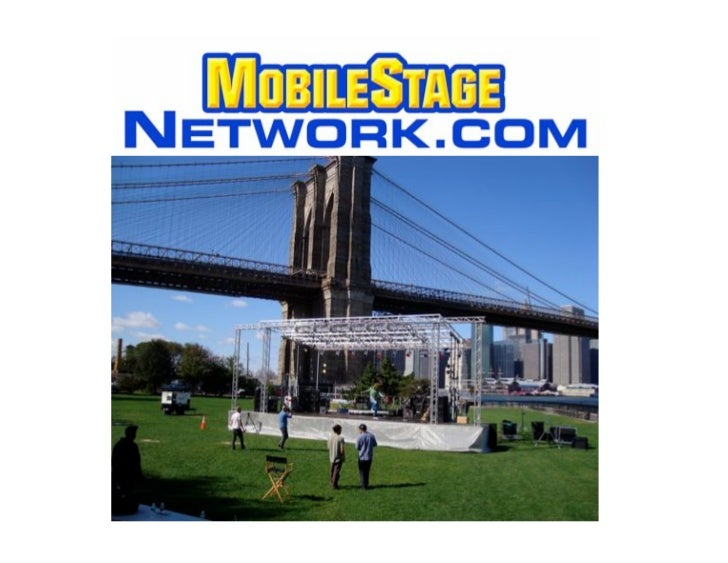 """!""""   We provide Mobile Stage Rentals to the outdoor open air events industry in     the USA"""