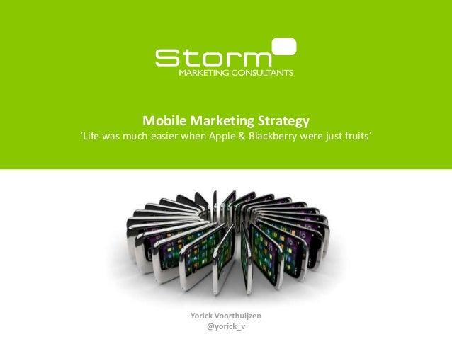 Mobile strategies storm_slideshare