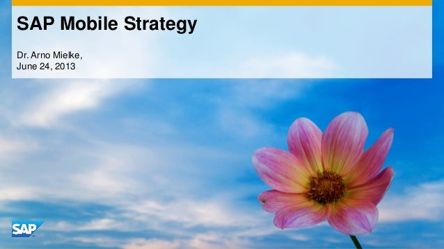 SAP Mobile Platform: Virtual Bootcamp – How to build your Enterprise Mobile Apps Part 1