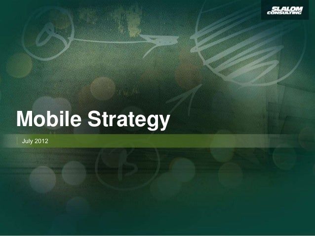Mobile Strategy Excerpt