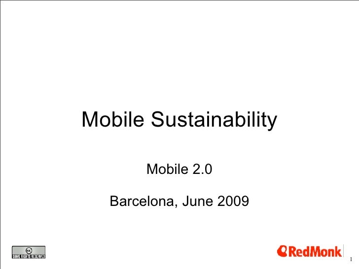 (Lack of) Sustainability in the mobile phone industry