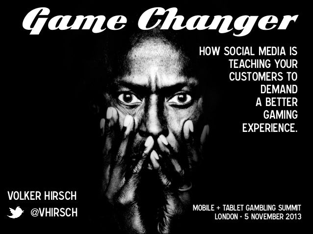 Game Changer How social media is teaching your customers to 