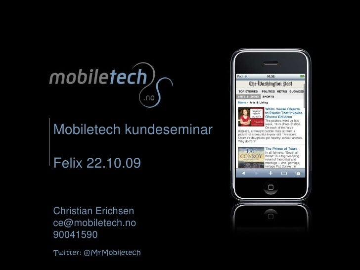 Mobiletech Kundeseminar