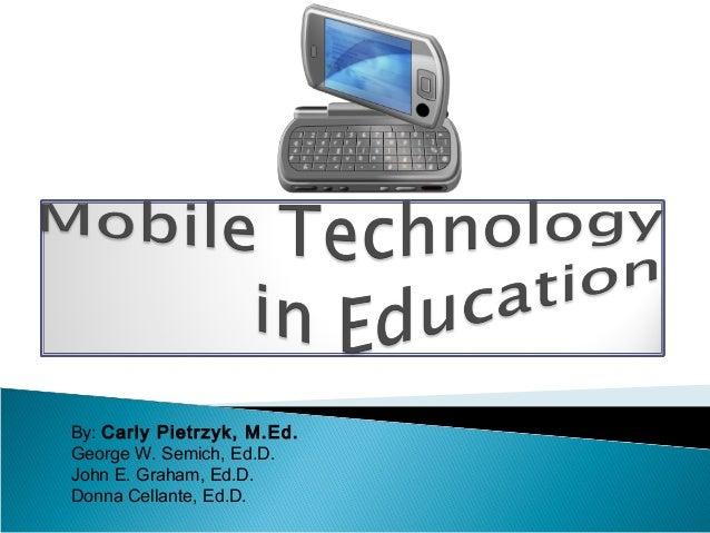 Mobile technology presentationrr