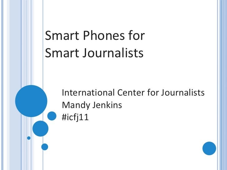 Mobile Tools for Immigration Journalists