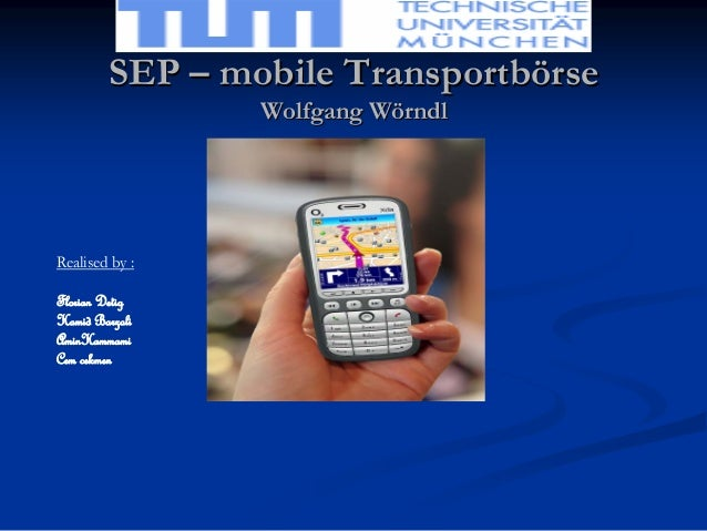 Mobile Transport-börse