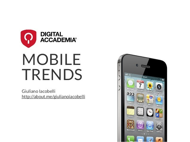 Mobile Trends 2013