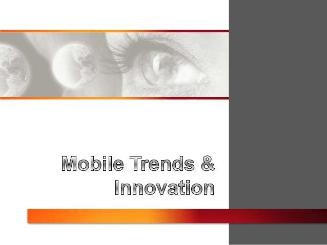 Mobile trends presentation 2013