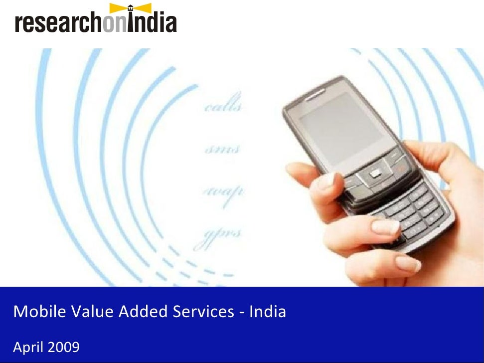 Mobile Value Added Services - India - Sample