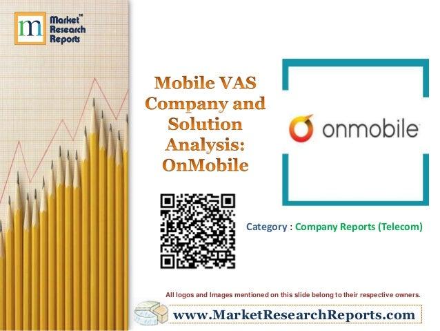 Mobile VAS Company and Solution Analysis: OnMobile